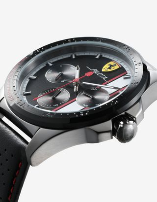 Scuderia Ferrari Online Store - Pilota multi-functional watch available exclusively at Ferrari Stores - Chrono Watches