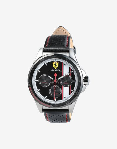 Pilota multi-functional watch available exclusively at Ferrari Stores