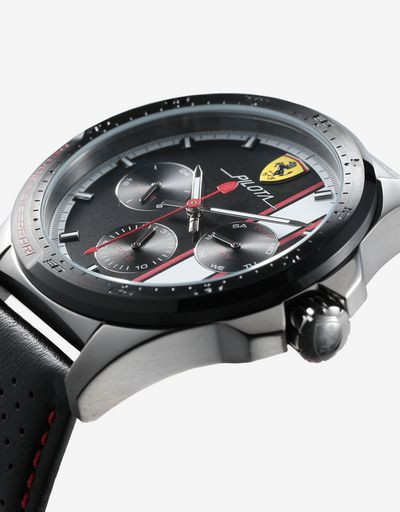 Multi-function Pilota watch available exclusively in Ferrari Stores