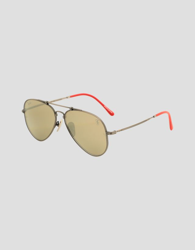 Scuderia Ferrari Online Store - Ray-Ban for Scuderia Ferrari RB8125M Italia Monza GP Limited Edition Sunglasses - Sunglasses