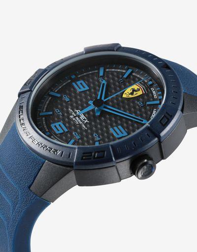 Apex 石英腕表搭配蓝色硅胶表带