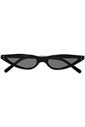 GEORGE KEBURIA Cat-eye acetate sunglasses