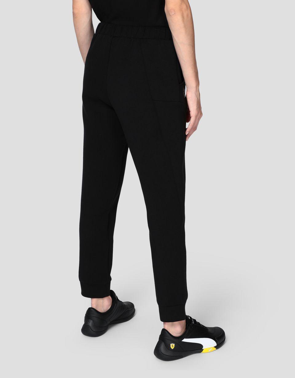 Scuderia Ferrari Online Store - Scuderia Ferrari Puma women's fleece trousers - Chinos