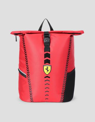 Scuderia Ferrari Online Store - Children's rucksack with roll-top - School Bags