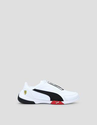 Scuderia Ferrari Online Store - Puma Scuderia Ferrari Kart Cat III kids sneakers - Active Sport Shoes