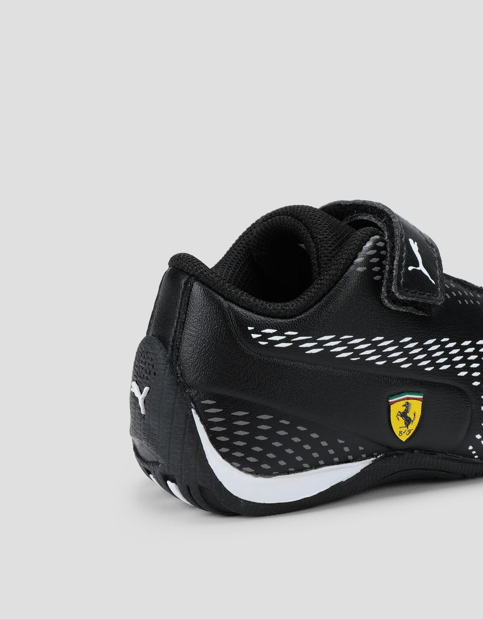 Scuderia Ferrari Online Store - Puma Scuderia Ferrari Drift Cat 5 Ultra II Shoes for boys with Velcro strap - Active Sport Shoes