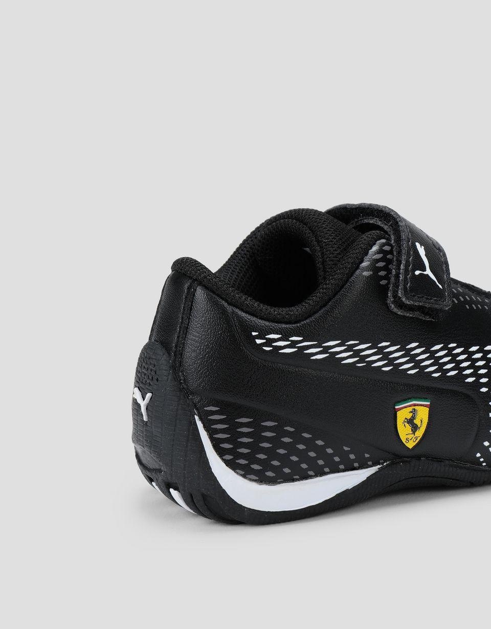 Scuderia Ferrari Online Store - Puma Scuderia Ferrari Drift Cat 5 Ultra II Shoes for boys with Velcro strap -