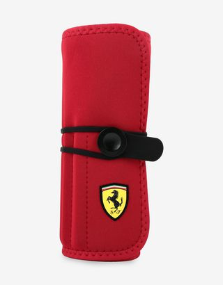 Scuderia Ferrari Online Store - Coloured pencil kit in roll pouch - Writing and Drawing
