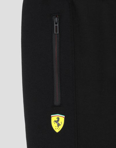 Scuderia Ferrari Online Store - Scuderia Ferrari Puma boy's fleece trousers - Joggers