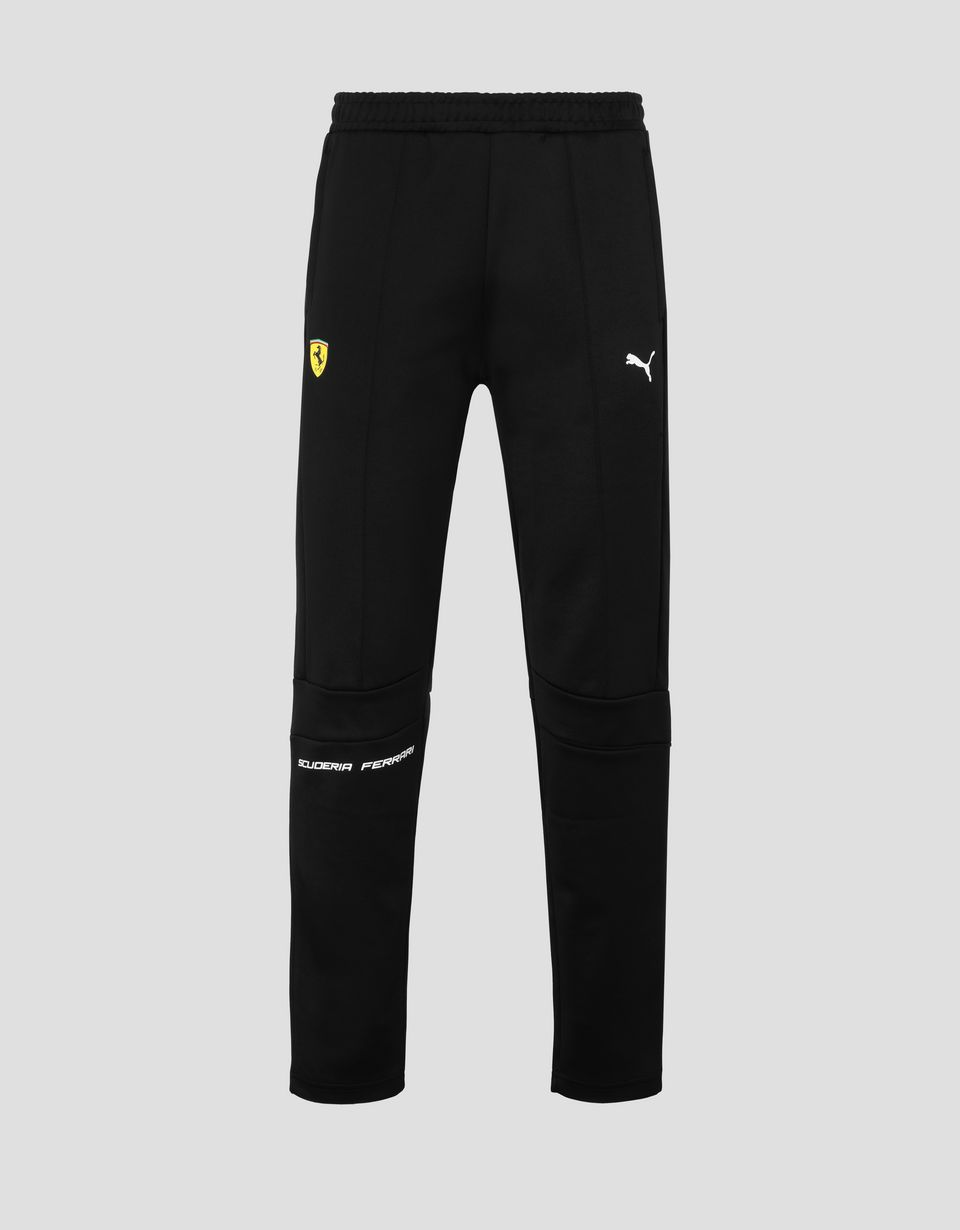 Scuderia Ferrari Online Store - Мужские брюки Puma Scuderia Ferrari T7 - Брюки чинос