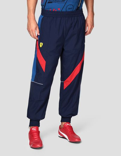 Puma Scuderia Ferrari Men's Trousers in a perforated fabric