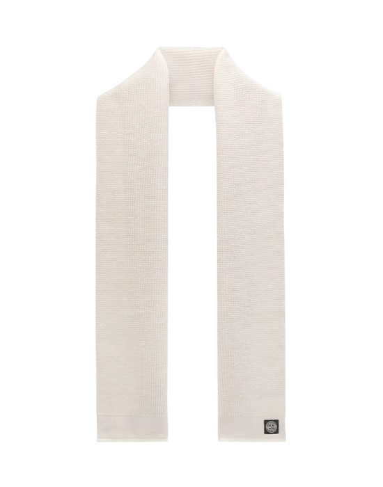 STONE ISLAND JUNIOR N05D4  Scarf Man Stucco