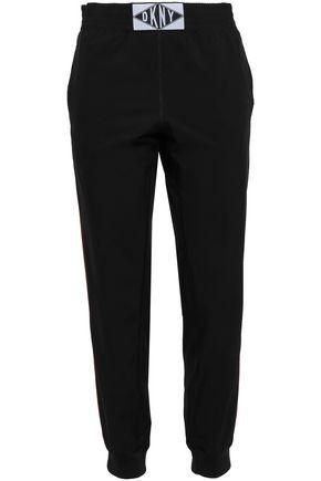 DKNY Appliquéd scuba track pants