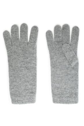 JOHNSTONS OF ELGIN Mélange cashmere gloves