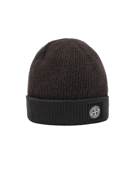 STONE ISLAND N07D5  Hat Man Dark Brown