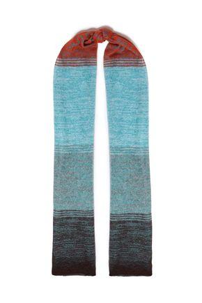 MISSONI Dégradé crochet-knit scarf