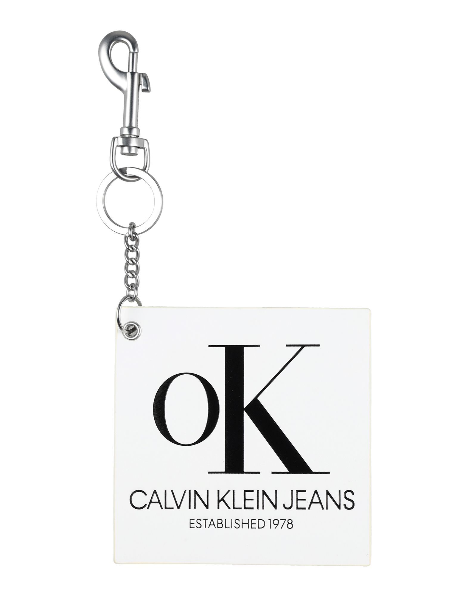 CALVIN KLEIN JEANS Брелок для ключей calvin klein jeans джинсы calvin klein jeans j3ij3 03478 914