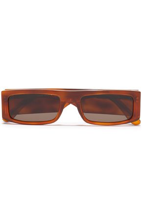 ANDY WOLF Hume square-frame tortoiseshell acetate sunglasses