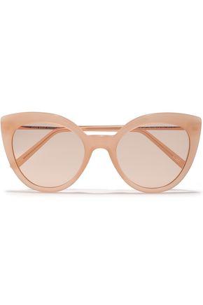 "ANDY WOLF نظارات شمسية ""غريس"" على شكل عيني القطة من الأسيتات"