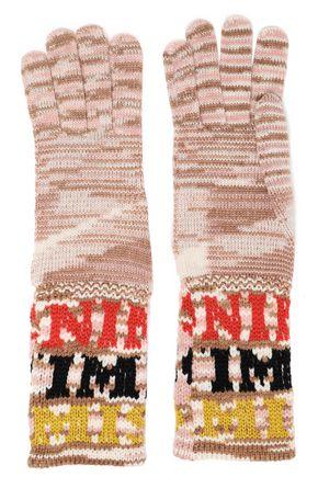 MISSONI Intarsia-knit gloves