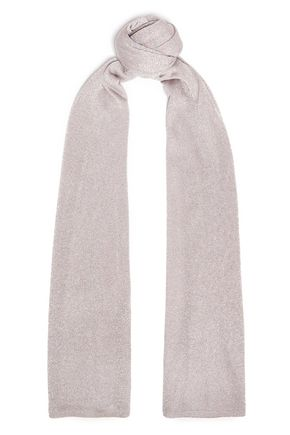 ミッソーニ メタリックニット スカーフ