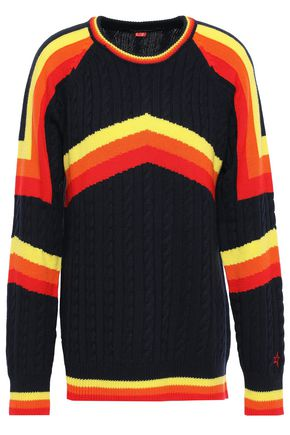 PERFECT MOMENT Striped wool sweater