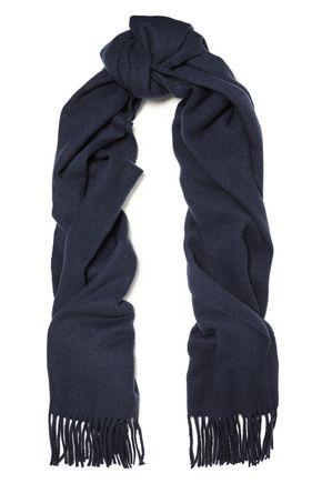 RAG & BONE Classic fringed brushed-cashmere scarf
