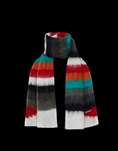 SCARF Multicolor Scarves & Gloves Man