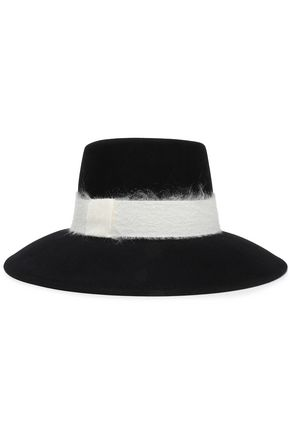 EUGENIA KIM Stevie wool-felt fedora