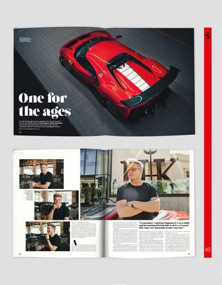 Scuderia Ferrari Online Store - The Official Ferrari Magazine, issue 43 - Books