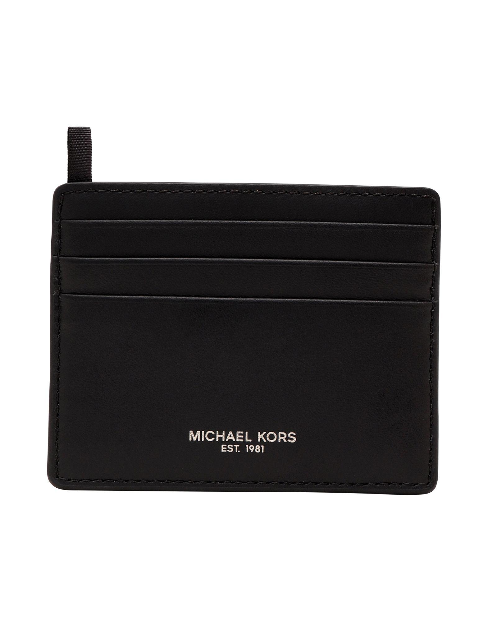 MICHAEL KORS MENS Чехол для документов michael kors чехол с золотистыми точками для iphone 7 8