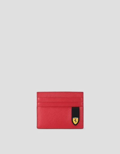 EVO credit card holder in Saffiano leather
