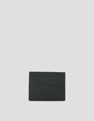 Scuderia Ferrari Online Store - Card holder in Saffiano leather made in Italy - Credit Card Holders