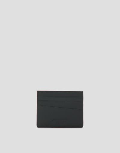 Card holder in Saffiano leather made in Italy