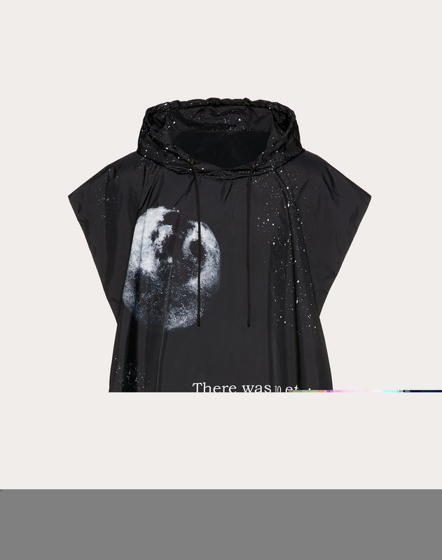 Nylon Moon hooded poncho