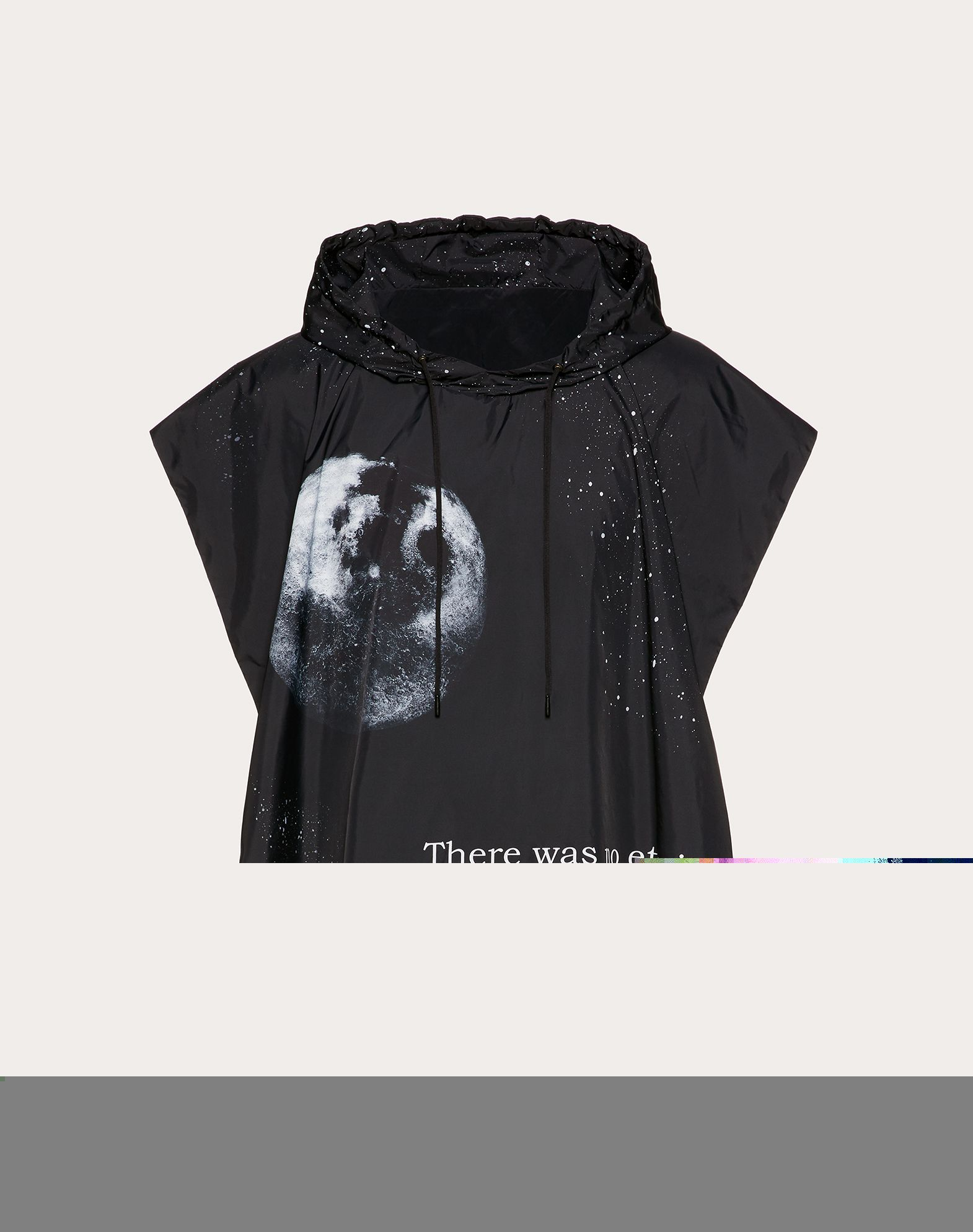 Nylon Moon hooded poncho