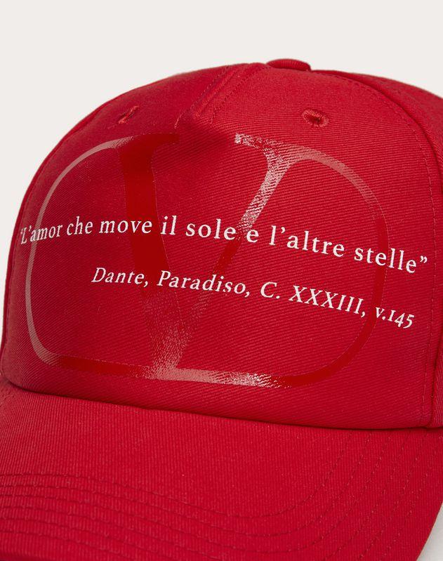 VALENTINO GARAVANI LOVE LAB Baseball Cap