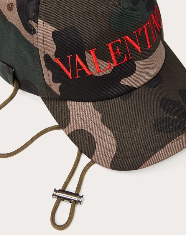 Cotton CAMOUFLAGE Baseball Cap