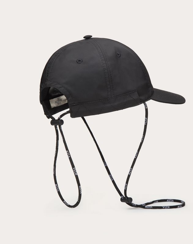 Nylon VLTN STAR Baseball Cap