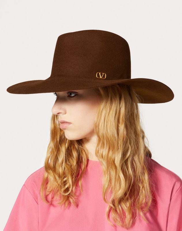 VLOGO wide-brim hat