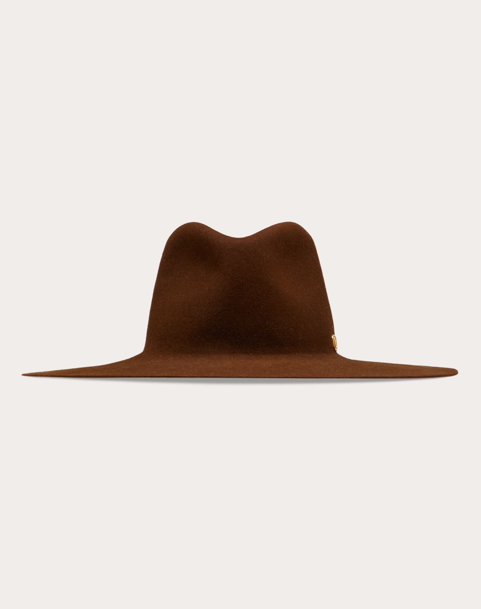 VLOGO wide-brim hat
