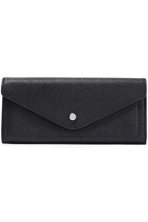 REBECCA MINKOFF Pebbled-leather wallet