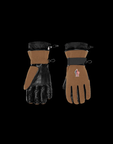 GLOVES Camel Grenoble Scarves & Gloves Man