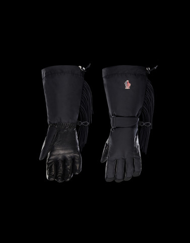 GLOVES Black 3 Moncler Grenoble Man
