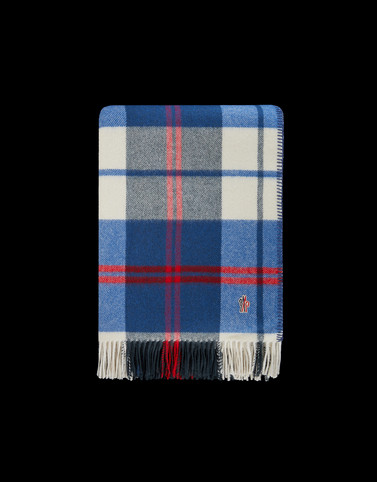 CHECK Azure Grenoble Scarves & Gloves Man