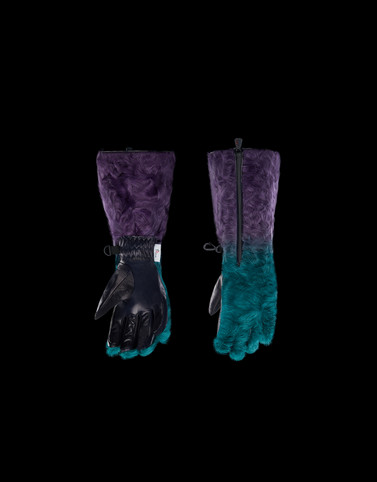 GLOVES Multicolor Grenoble Scarves & Gloves Woman