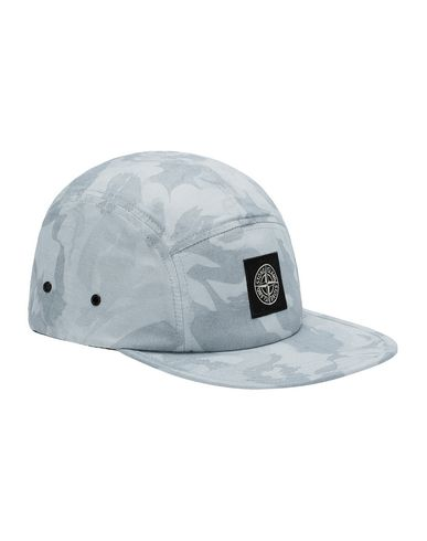 STONE ISLAND 990ED BIG LOOM CAMO  Cap Man Sky Blue USD 163