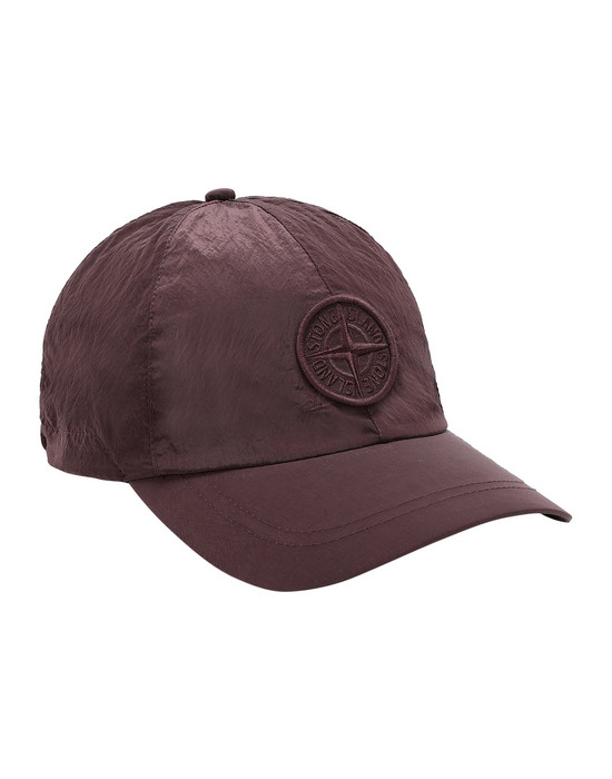 STONE ISLAND 99575 NYLON METAL Cap Man MAHOGANY BROWN