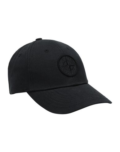 STONE ISLAND 99168 Cap Man Black USD 103