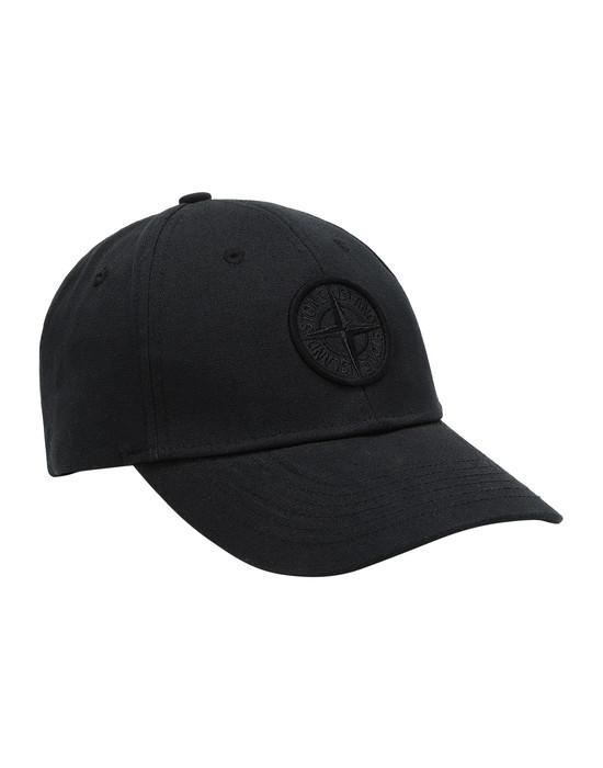 STONE ISLAND 99168 Cap Man Black
